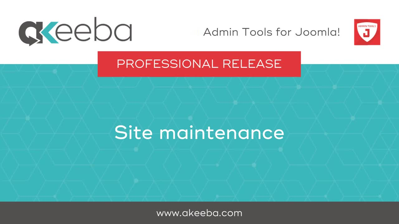 Site Maintenance