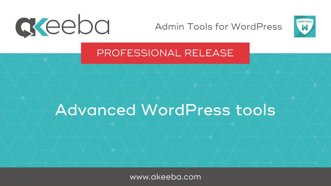Advanced WordPress Tools