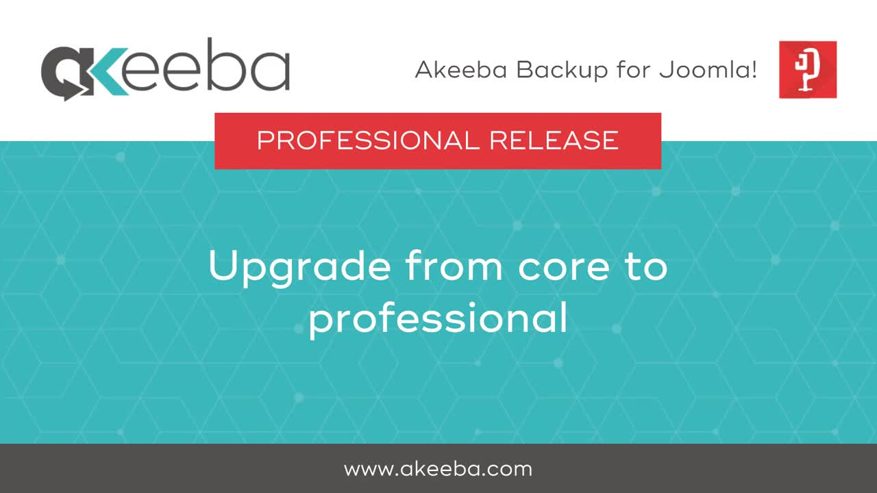 Upgrade from Core to Professional