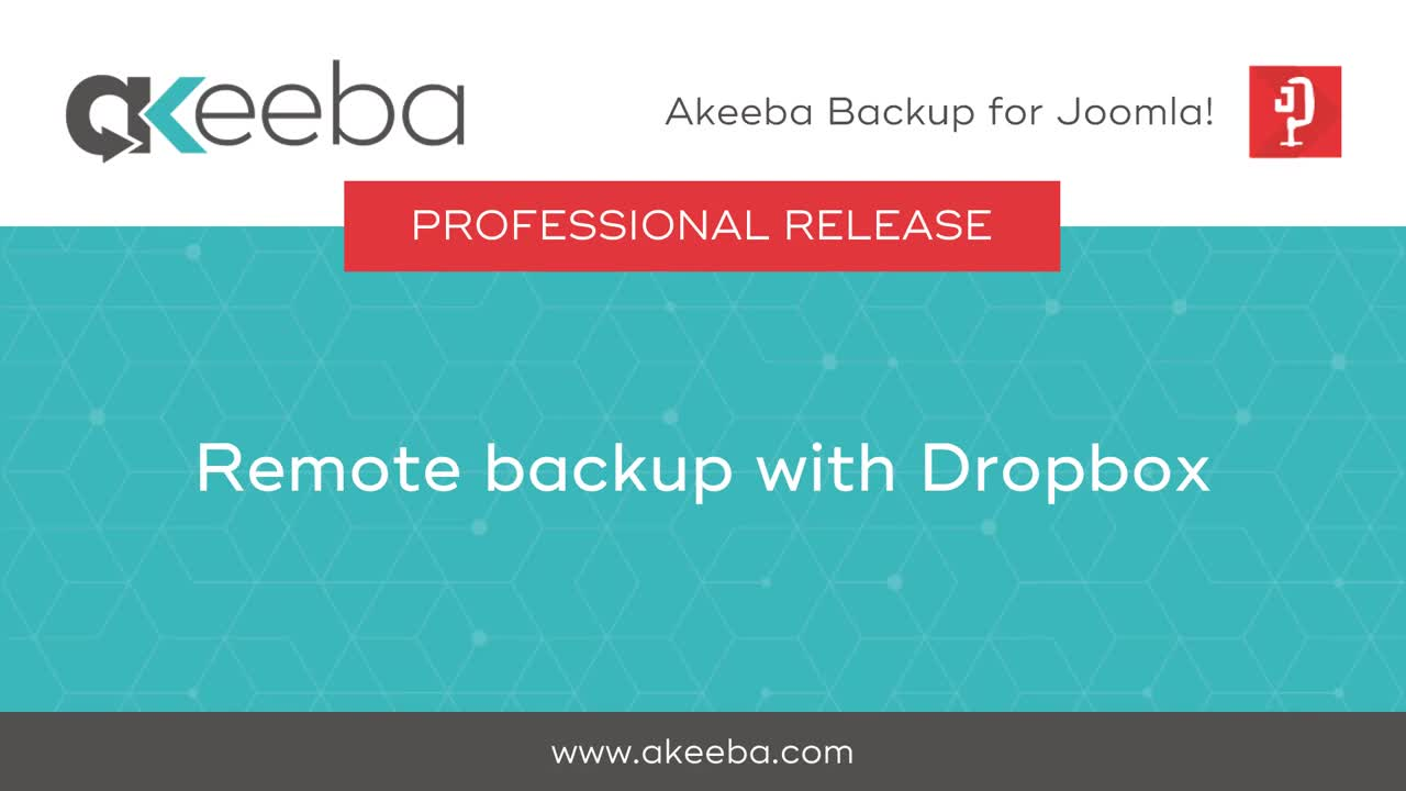 Remote Backup with Dropbox