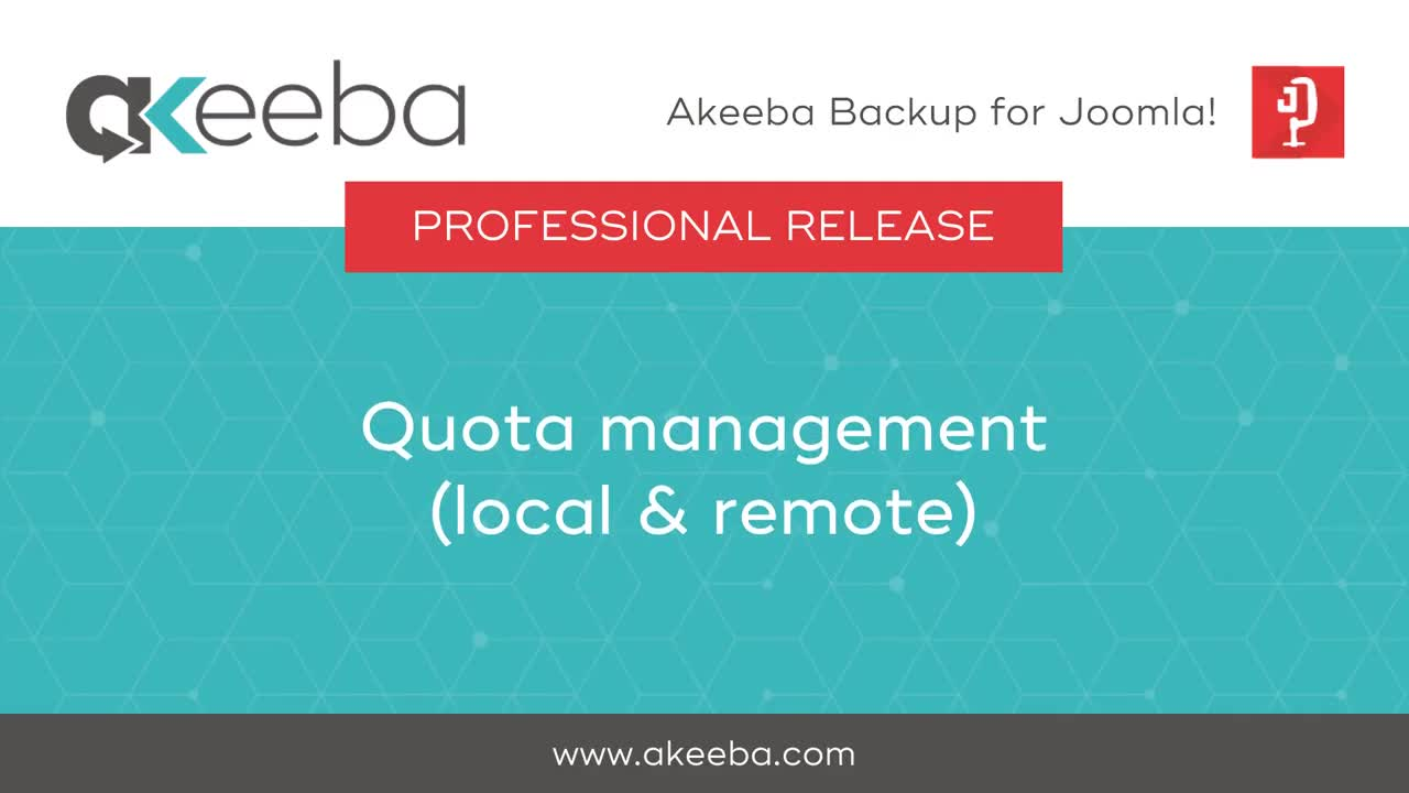 Quota Management (local & remote)