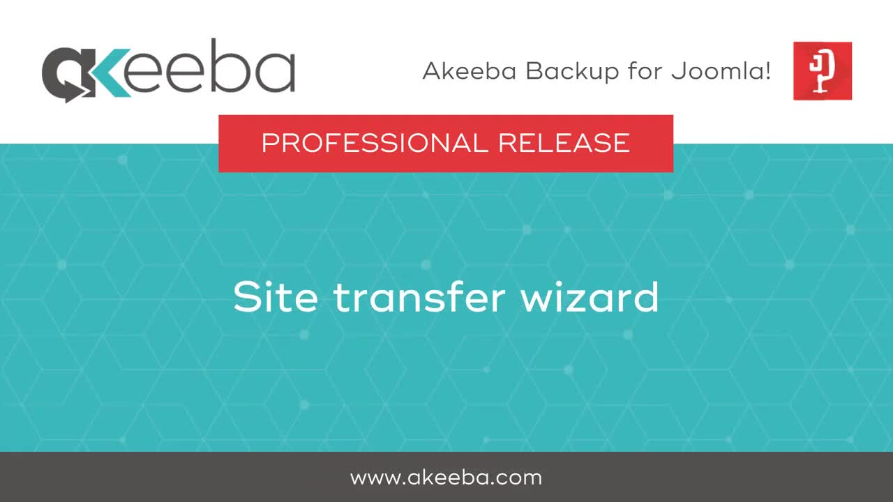 Site Transfer Wizard