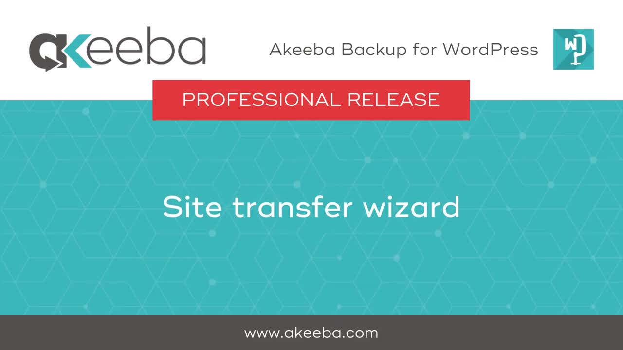 Site Transfer Wizard