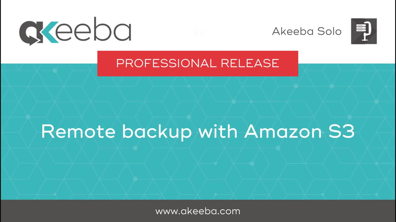 Remote Backup with Amazon S3