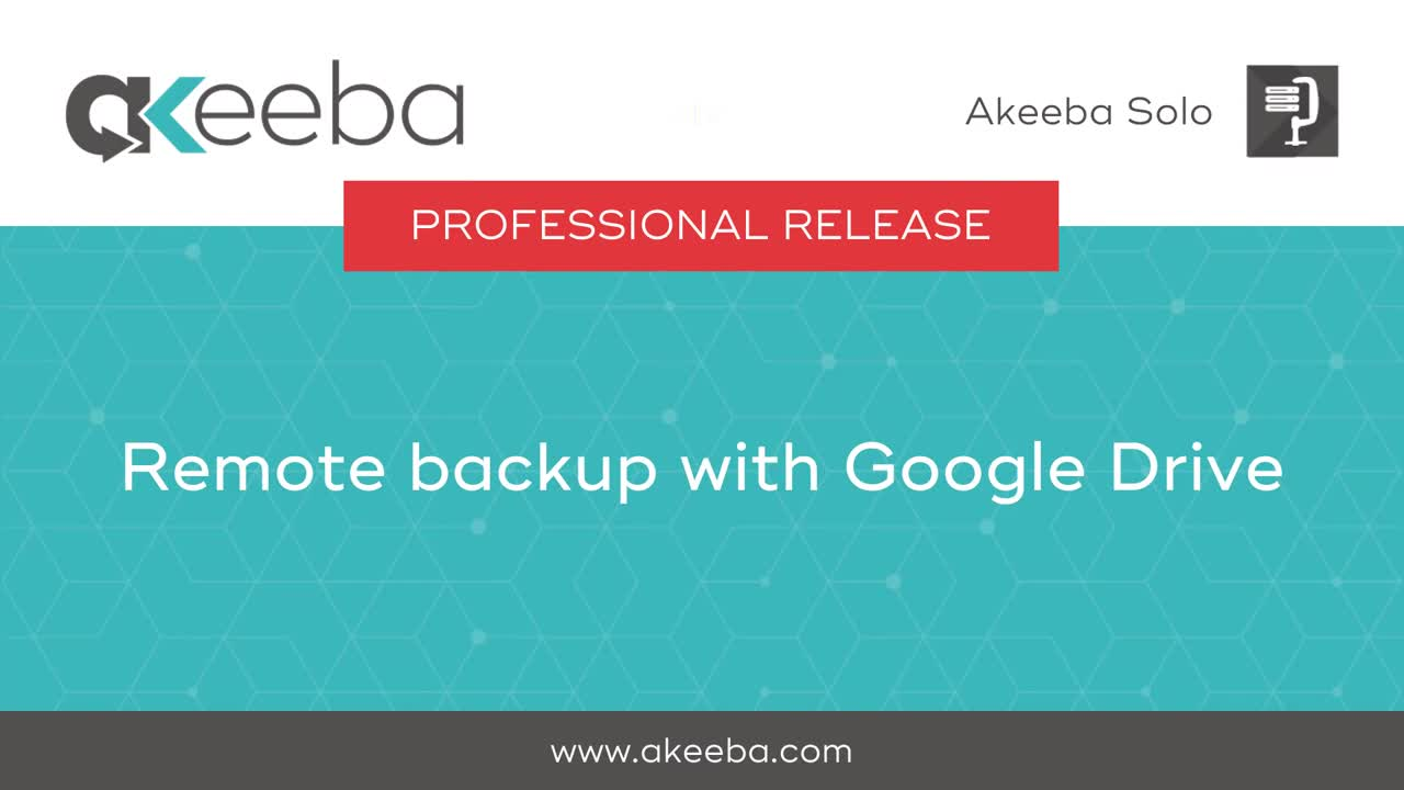 Remote Backup with Google Drive